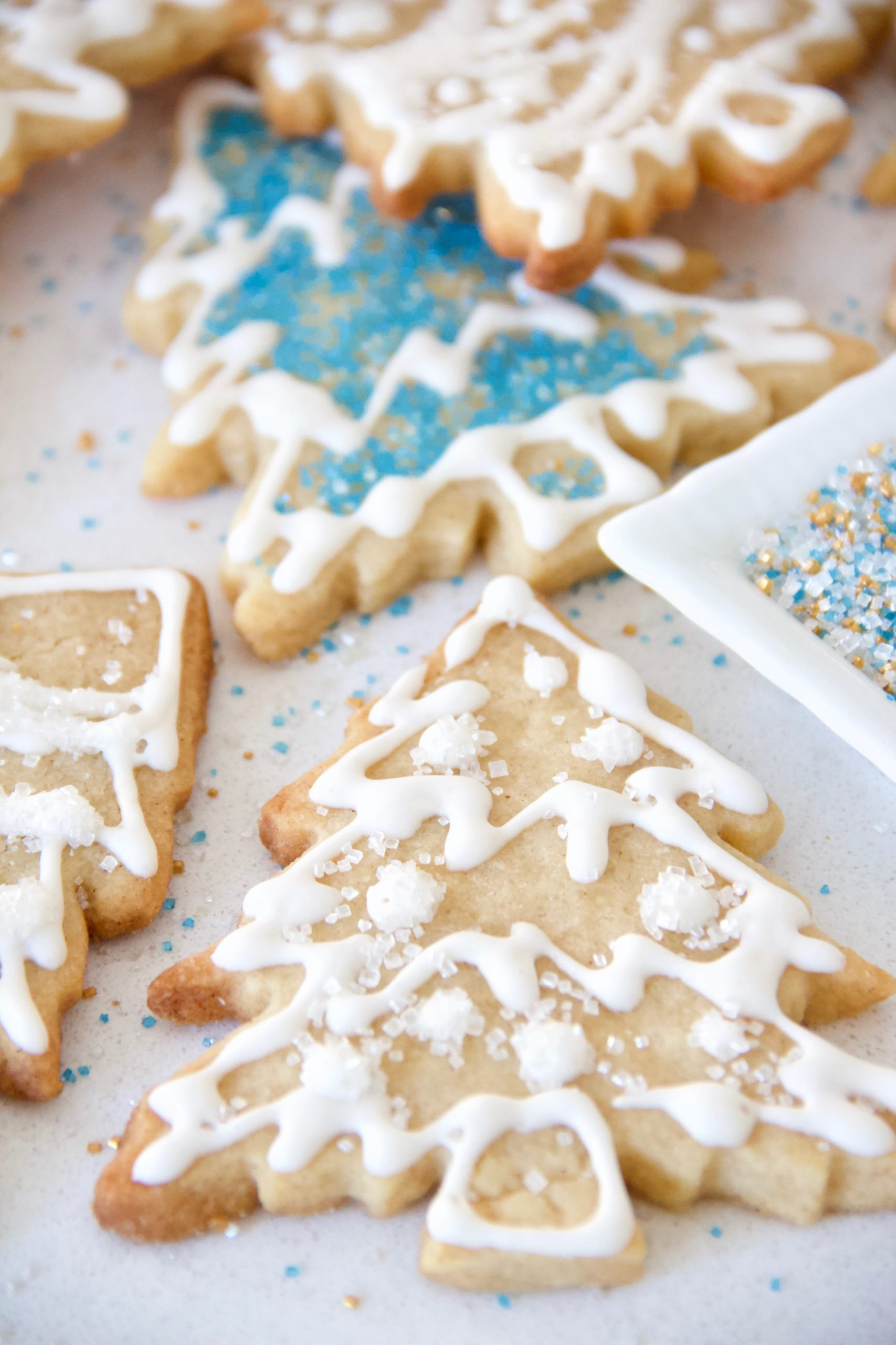 No-Chill Cinnamon-Sugar Cut-Out Cookies