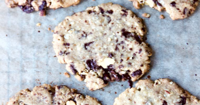 Ultra-Thin Chocolate Chunk Cookies