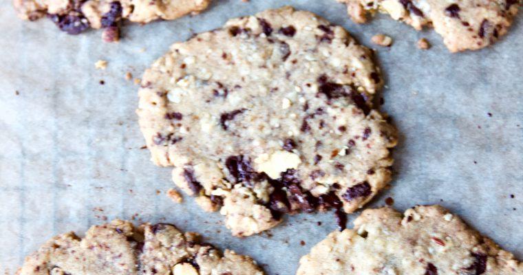 Ultra-Thin Chocolate Chunk Cookies