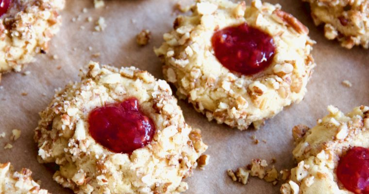 Swedish Tea Rings – Thumbprint Cookies